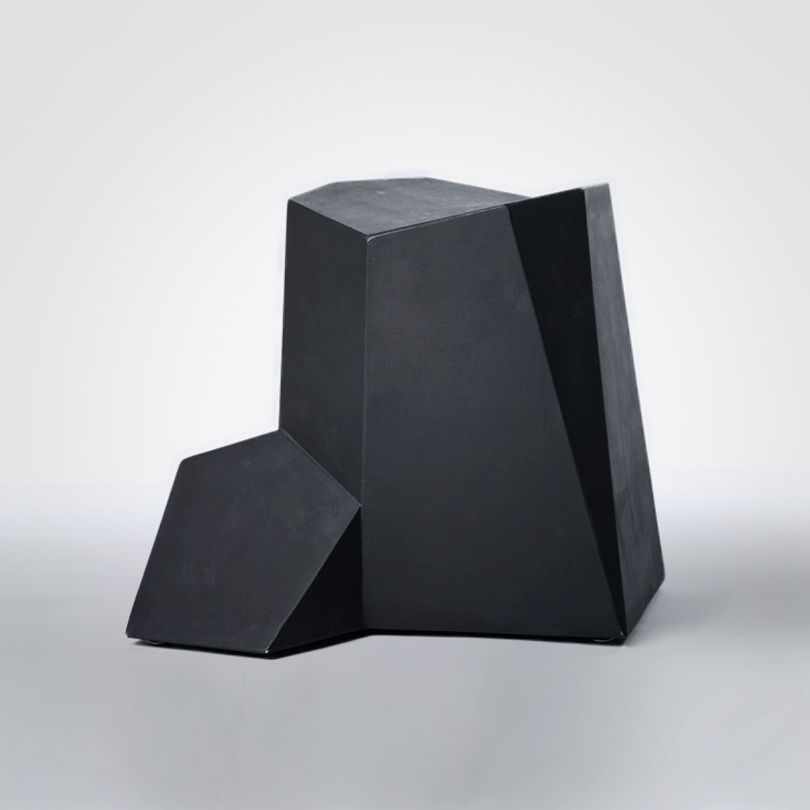 chalk rock stool