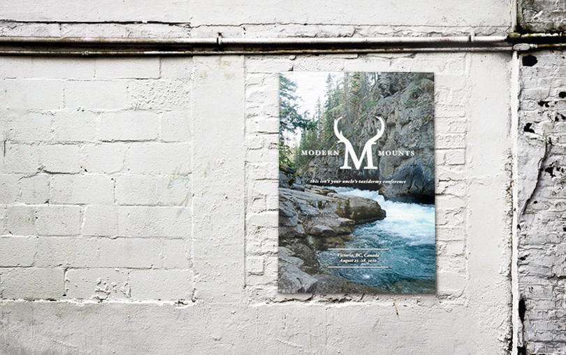 taxidermy, poster, wall, Victoria, British Columbia, modern mounts